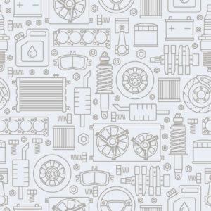 Automotive Parts Pattern